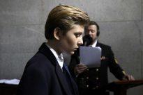 Barron Trump, en el punto de mira de los cañones mediáticos