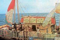 La balsa liberal con 11 desconocidos que cruzó el Atlántico desde Canarias en 1973