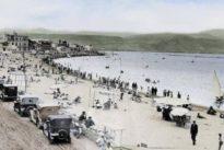 Los canarios reviven la historia de la emblemática playa de Las Canteras