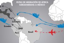 El férreo control de la frontera marítima de Canarias conduce a inmigrantes a EE.UU. por Costa Rica