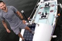 Hennigan, el remero que dejó la heroína para cruzar el Atlántico desde Canarias en 49 días