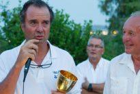 Joaquín Blanco recibe en Palamós la Finn Gold Cup 40 años después