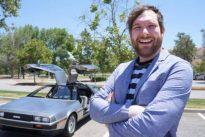 El hombre que fue multado por intentar В«regresar al futuroВ» con su DeLorean