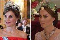 La Reina Letizia y la Duquesa de Cambridge, duelo de estilismos
