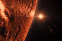 El telescopio Hubble detecta indicios de agua en el sistema solar TRAPPIST-1