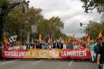 Barcelona se vuelve a manifestar por la unidad de España