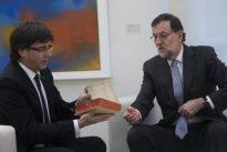 Puigdemont quiere tratar de tú a tú con el Gobierno de Rajoy