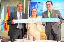 La región se une a Galicia y Asturias para ampliar el Corredor Atlántico
