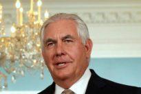 Tillerson: «EE.UU. apoya una España fuerte y unida»