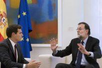 Rivera se reunió este viernes con Rajoy para insistirle en la aplicación del 155