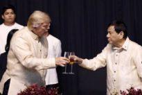Trump calla sobre la guerra antidroga de Duterte y destaca su «excelente relación»