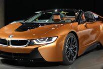 BMW i8 Roadster: ya lo hemos visto y tocado