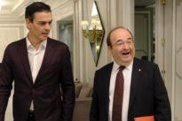 """Sánchez:""""La papeleta de Iceta es la única que puede garantizar la unidad entre catalanes"""""""