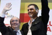 Sánchez e Iceta se ofrecen para acoger al catalanismo «huérfano»