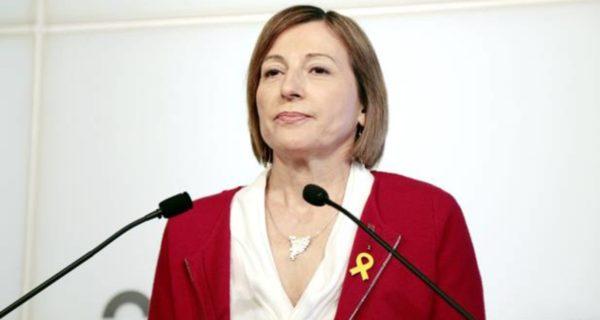 Forcadell descarta estar en el Govern y quiere ejercer solo de diputada