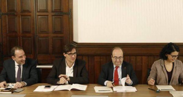 El PSC registra una petición de informe «urgente» a los letrados del Parlament sobre la investidura