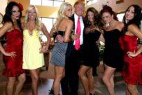 Los escándalos sexuales cercan a Trump