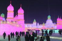 Las colosales estatuas de hielo que hay que ver cada invierno