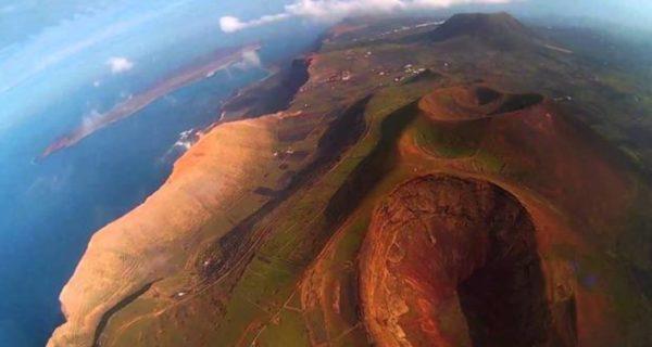 En los Pirineos hay ceniza volcánica de Canarias