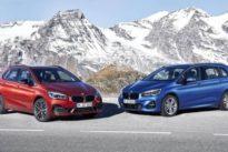 Nuevo diseño y motores de última generación para los BMW Serie 2 Active Tourer y Gran Tourer