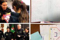 La emotiva carta de una niña de ocho años que casi rapta un pedófilo a la Policía: «Sois los mejores»