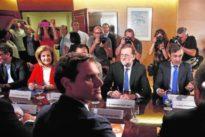 Rivera declaró la guerra a Rajoy por no informarle del recurso al TC
