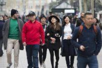 El INE confirma que España recibió en 2017 el récord de 81,8 millones de turistas
