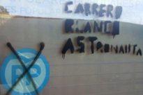 El PP de Ávila condena las pintadas realizadas en su sede con mensajes referidos a Carrero Blanco