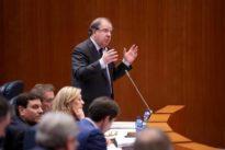 Herrera afirma tener la confianza del PP para seguir de presidente hasta las elecciones