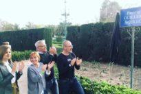 Arrancan una placa recién inaugurada dedicada al activista antifascista Guillem Agulló en Valencia