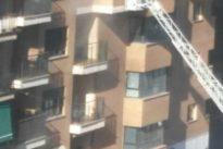 Rescatado un niño de nueve años que se encerró en el baño al incendiarse su casa