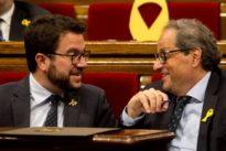 El Parlament aprueba una moción de JpC, ERC y la CUP para recuperar los objetivos para la independencia