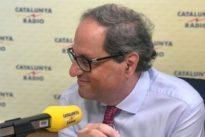Quim Torra sobre los nuevos recursos de Pedro Sánchez ante el TC: «Empezamos mal, presidente»