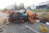 Un hombre muere en un accidente de tráfico en Quart de Poblet