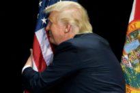 ¿Banderas Made in China para la campaña de Trump 2020?