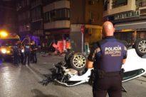 Un quiosco de la ONCE arrancado y una mano «catastrófica»: así fue el brutal accidente de Vallecas