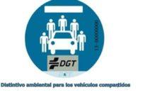 Placas luminosas y distintivos para coches compartidos, otras novedades de la DGT