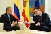Sánchez ofrecerá a Colombia la ayuda de España en la negociación con el ELN