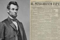 El asesinato de Lincoln por «separatistas fanáticos» que estremeció a la prensa española en 1865