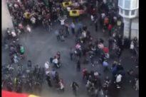 El vecino de Vitoria insultado por independentistas: «Hay miedo de colgar la bandera de España»
