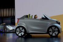 «smart» presenta en París el prototipo Forease con el que celebra su 20 aniversario