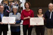 El gobierno de Colau estudia si dedicar al 1 de octubre una plaza o calle de Barcelona