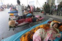 Rescatados 31 adolescentes en dos escuelas aisladas tras el terremoto de Indonesia