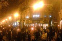 El vídeo de miembros de extrema derecha entonando el «Cara al Sol» en el Metro de Valencia