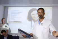 Trasladan a la clínica de Pedro Cavadas a un trabajador que ha perdido un brazo en un accidente
