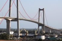 Así es el nuevo puente colgante más grande de África