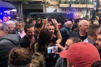 Dos detenidos por escupir, insultar y arrebatarle el móvil a Cristina Seguí en la manifestación del 9 d'Octubre