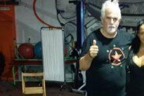 Feluco Marrero, entrenador de boxeo de Aurah Ruiz: «nunca baja la guardia y se merece respeto»