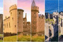 Seis castillos en ruinas reconstruidos digitalmente