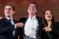 Ciudadanos pide a Susana Díaz que lo apoye como alternativa a un Gobierno del PP en Andalucía